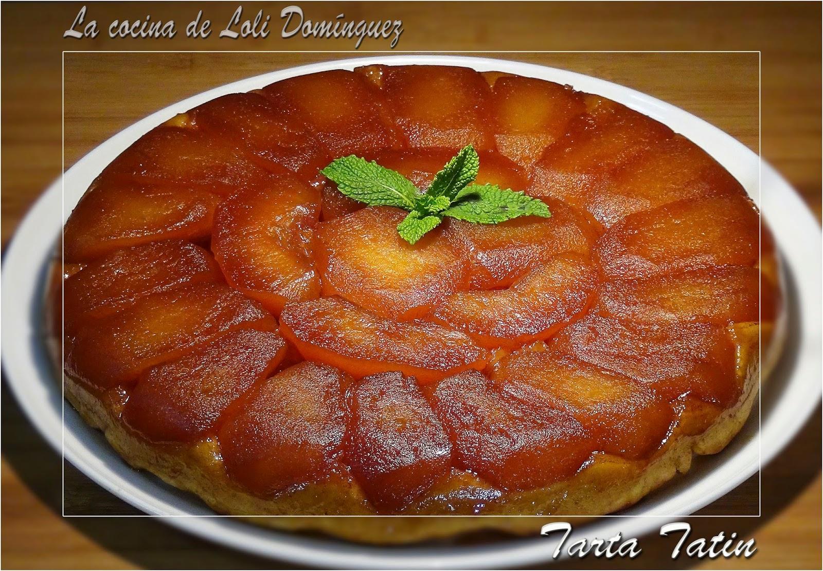 La cocina de loli dom nguez tarta tatin for Cocina francesa canal cocina
