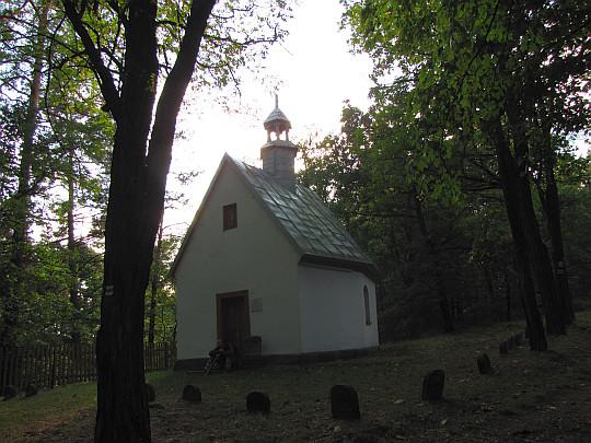 Kapliczka pw. Przemienienia Pańskiego z 1850 roku na Grodowej Górze.
