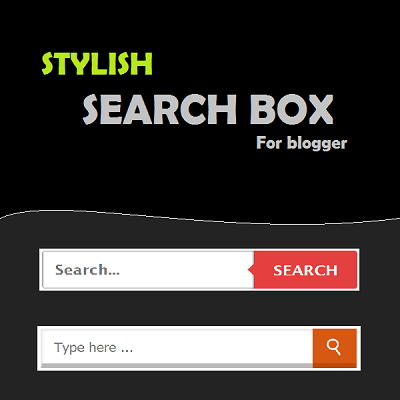 Custom Stylish Search box widget