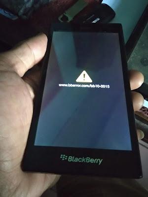 Flash BlackBerry Z3
