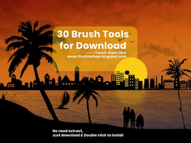 Brush tools download for Photoshop