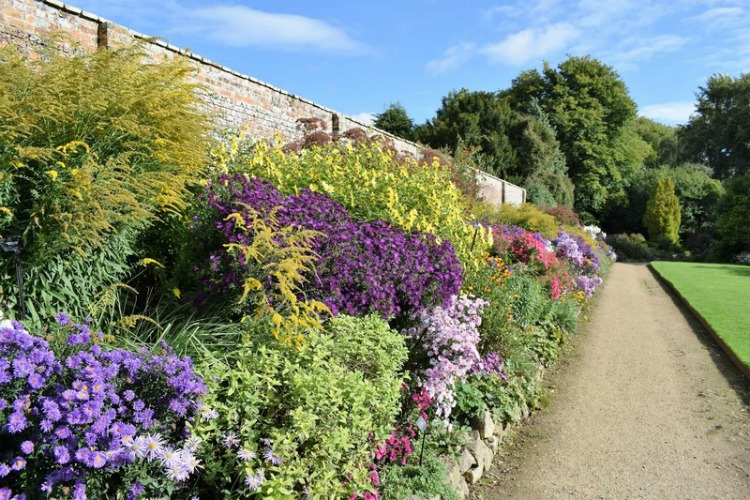 Herbaceous border at Waterperry Gardens | Foto Fernando Ruz
