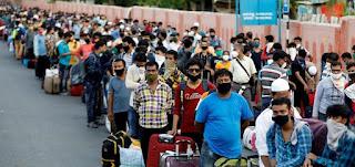 """جائحة كورونا قد تؤدي إلى موجات هجرة """"هائلة"""" بعد إعادة فتح الحدود الدولية"""