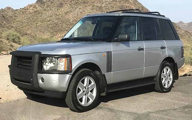 2003 Range Rover đã có một sự nâng cấp triệt để kể từ thế hệ đầu tiên