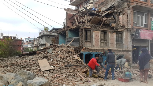 natural disaster earthquake nepal