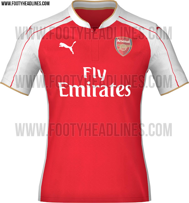 camiseta del arsenal gris