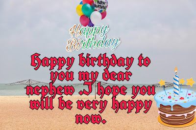 Birthday wishes for a nephew