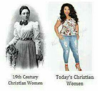 19th century christian women vs today christian women