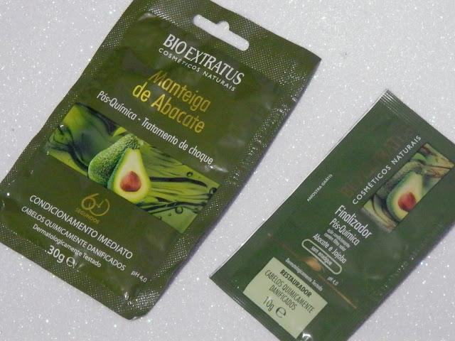 Resenha: Máscara e finalizador Manteiga de Abacate da BioExtratus