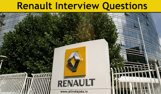 Renault Interview Questions