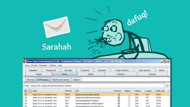Sarahah App Secretly Uploads your Entire Contact List