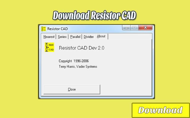 Download Resistor CAD | Kalkulator / Info & Softwares Elektronika