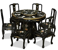 Chinoiserie Dining Set