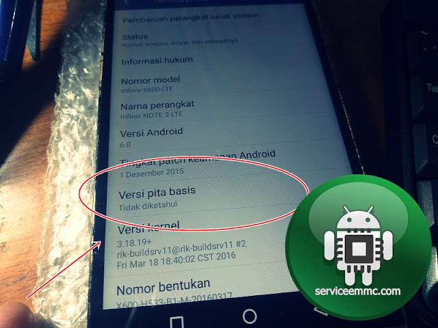 Fix !!! Baseband Unknown/Ime NULL Infinix Note 2(X600 LITE)