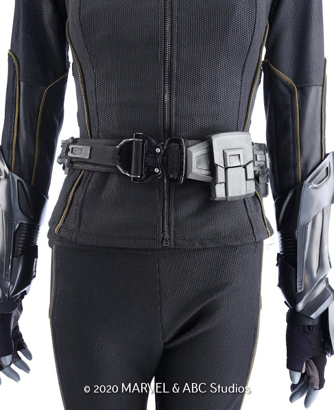 Marvel Agents of SHIELD Quake costume detail