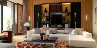 sala moderna acogedora