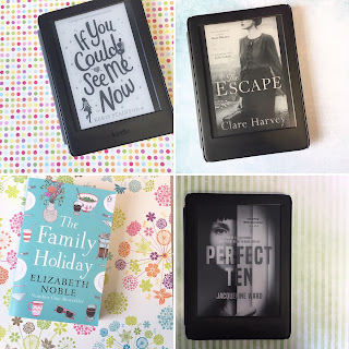 If You Could See Me Now by Keris Stainton, The Escape by Clare Harvey, The Family Holiday by Elizabeth Noble & Perfect Ten by Jacqueline Ward