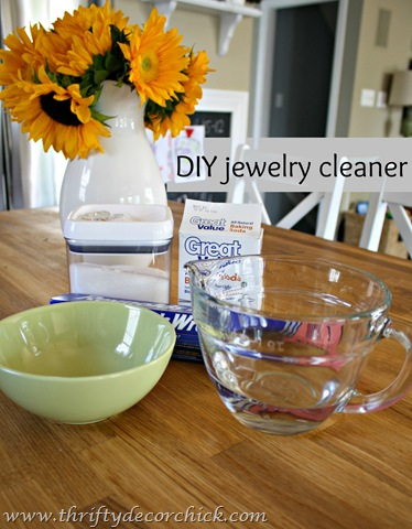 at home jewelry cleaner recipe