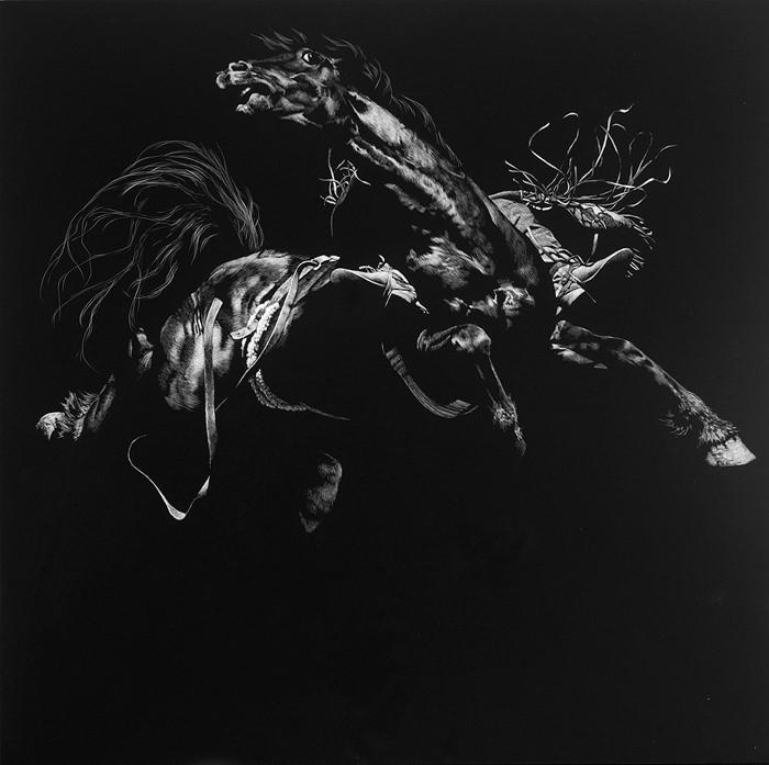 Американский художник. Julie T. Chapman