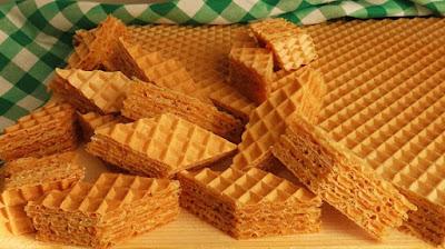 Starinske karamel oblatne - Vafeli / Caramel wafers