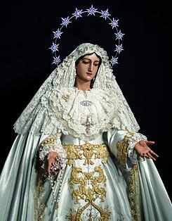 Álvarez Duarte restaurará María Santísima del Rocío Coronada tras el percance del pasao Martes Santo malagueño