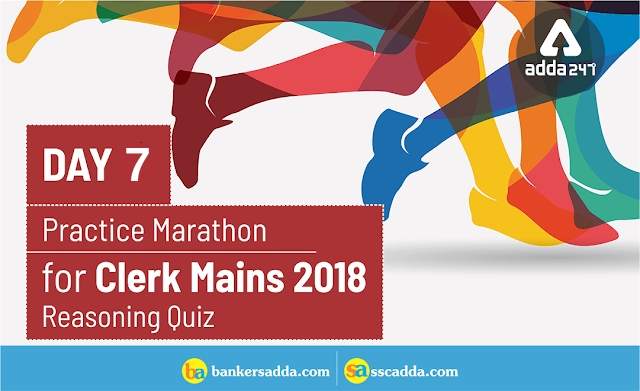Reasoning Quiz For IBPS Clerk Mains: 01st January 2019