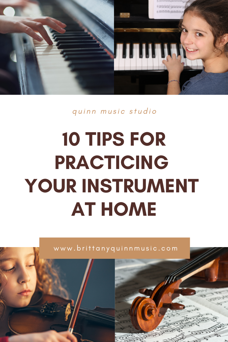 tips on how to practice your musical instrument at home