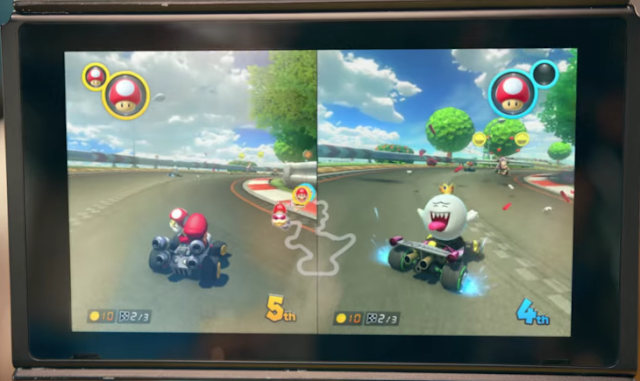 King Boo Mario Kart Nintendo Switch trailer