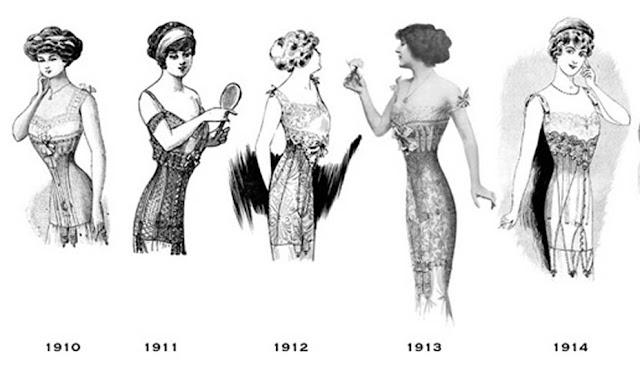evolução lingerie