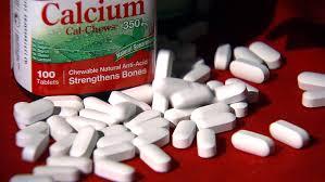 Benefits of calcium pills