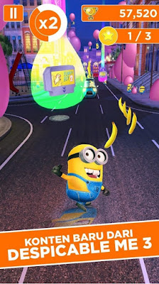 Despicable Me Minion Rush v5.0.1b MOD APK (Free Shopping)