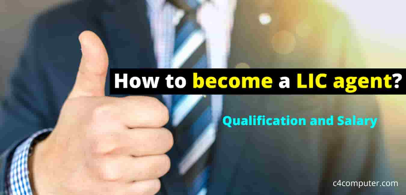 How to become a LIC agent