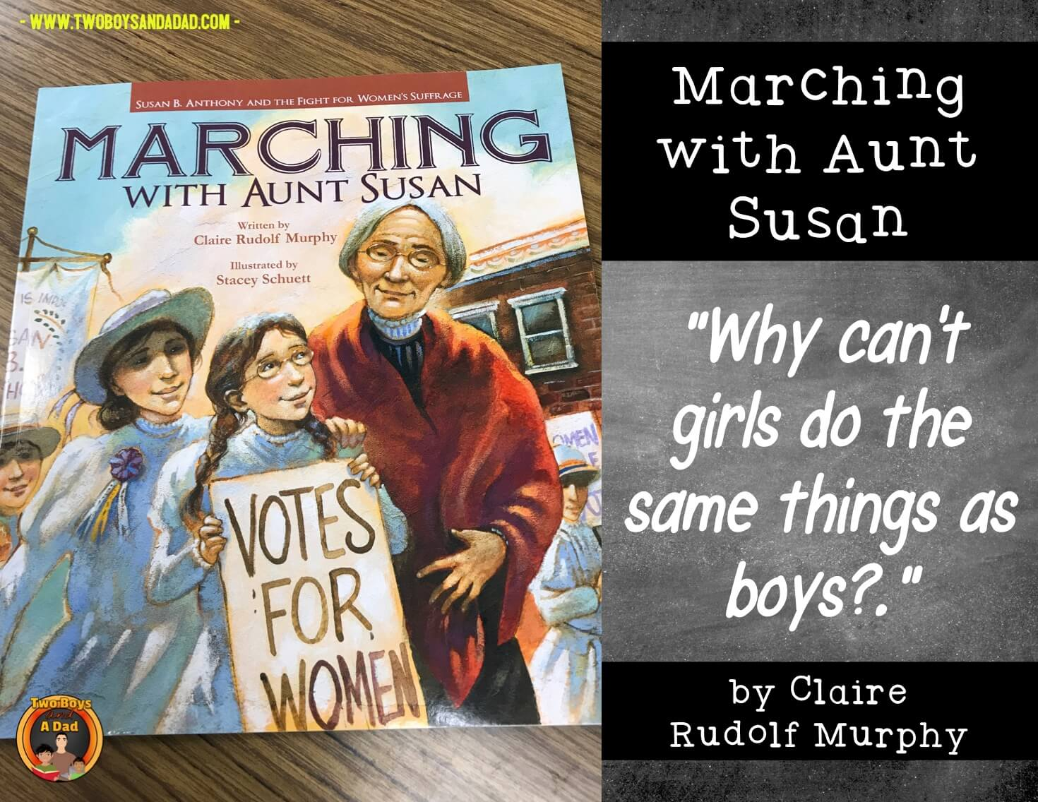 Marching with Susan B. Anthony