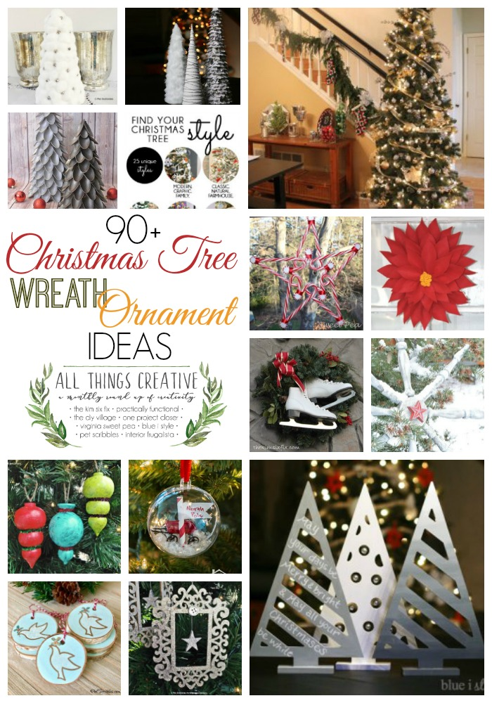 Over 90 Christmas Tree-Wreath-Ornament Ideas