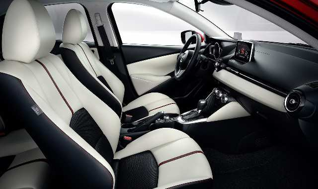 Mazda CX-3: interior with all weather floor mats