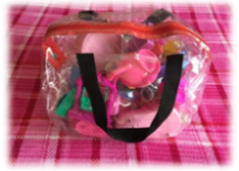 Clear Toy Bags