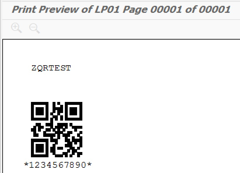 Creating QR Codes from ABAP - Acorel