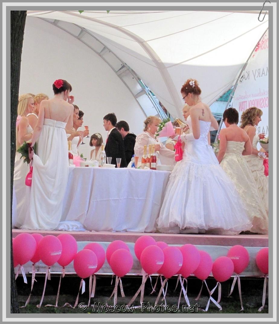 Pink Balls and Russian Runaway Brides
