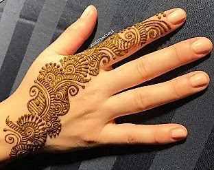 Mehndi designs in easy for wedding and other ceremonies in an easy way.