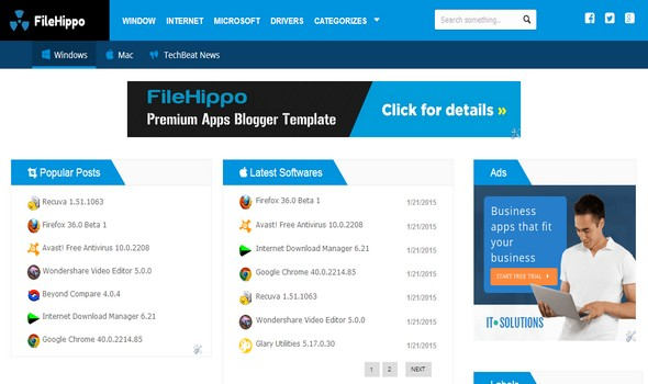 Filehippo blogger template blogger templates gallery filehippo blogger template fbccfo Image collections