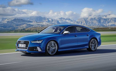 Audi RS7 Performance Blue picture