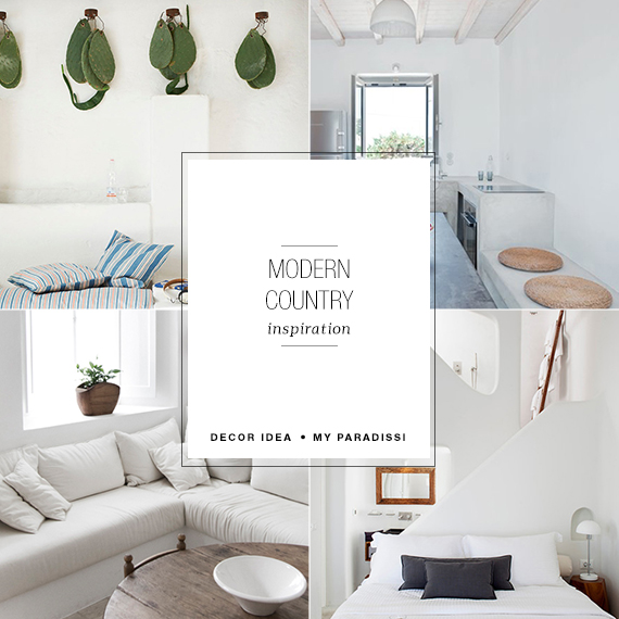Modern country design inspiration | My Paradissi