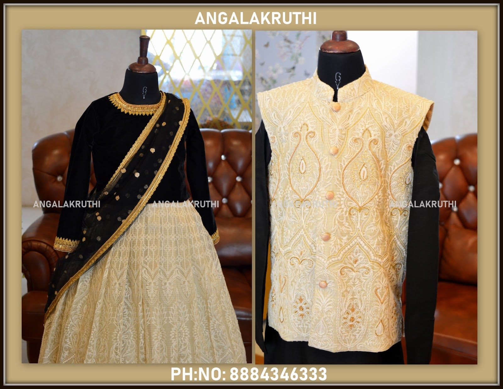 f6ae573b5b Dad and Son matching dress designs by Angalakruthi boutique in bangalore