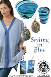 Fair Trade Designs in Blue