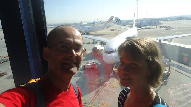 Air Europa, 100 Montaditos, Madri, Barajas, Salvador