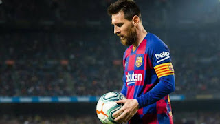 Leo Messi in race to win the Panna d'Or in 2019/20 season