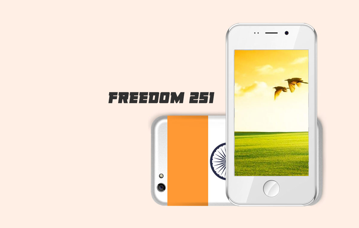 Freedom 251 Smartphone Android Termurah Sedunia