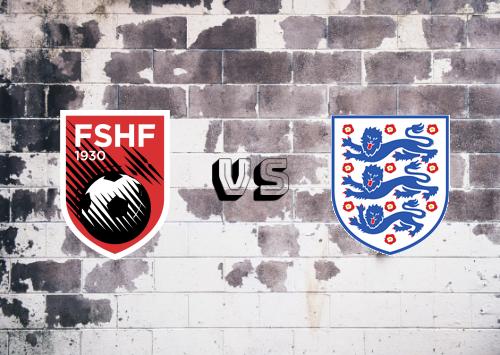 Albania vs Inglaterra  Resumen y Partido Completo