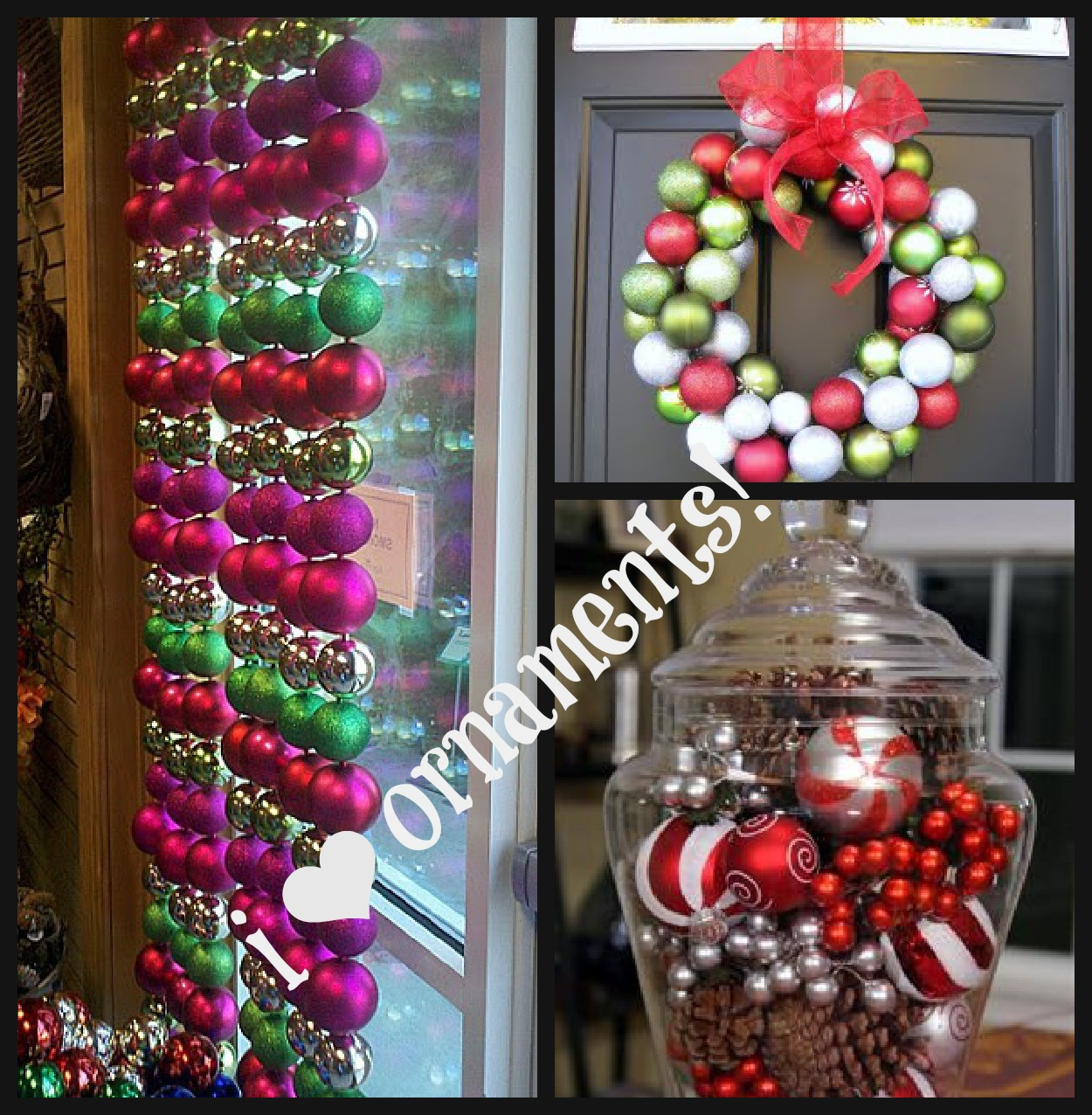 Beach Gypsies: Dollar Store Christmas Decorating