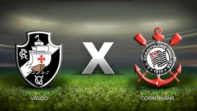 Vasco x Corinthians - 21/10/2020 – Assistir ao vivo